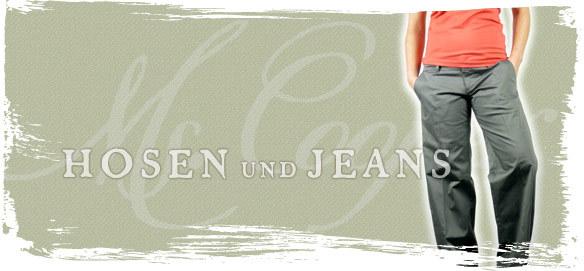 Hosen und Jeans