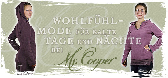Wohlfühl-Mode für kalte Tage und Nächte bei Ms.Cooper
