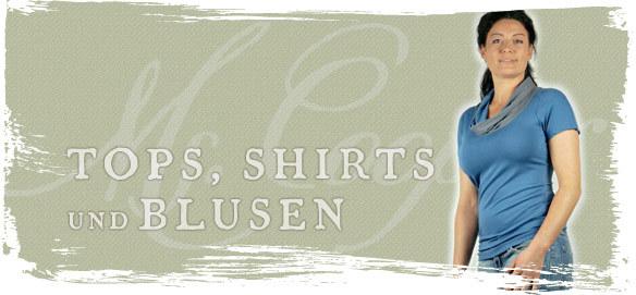 Tops, Shirts und Blusen