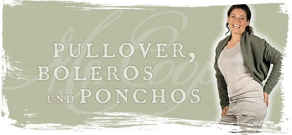 Pullover, Boleros und Ponchos