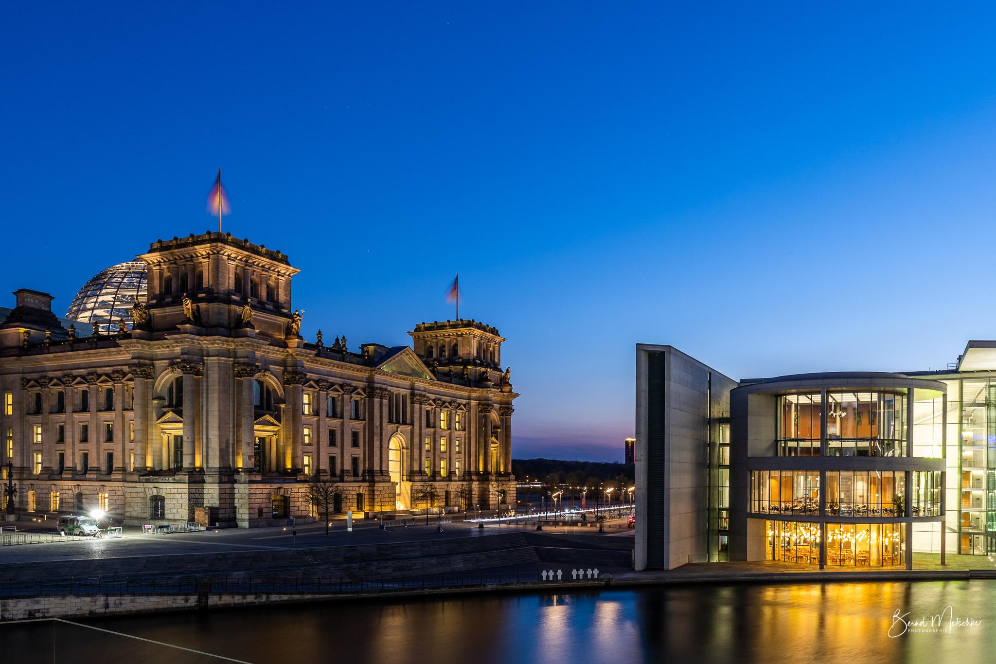 Regierungsviertel - Reichstagsgebäude