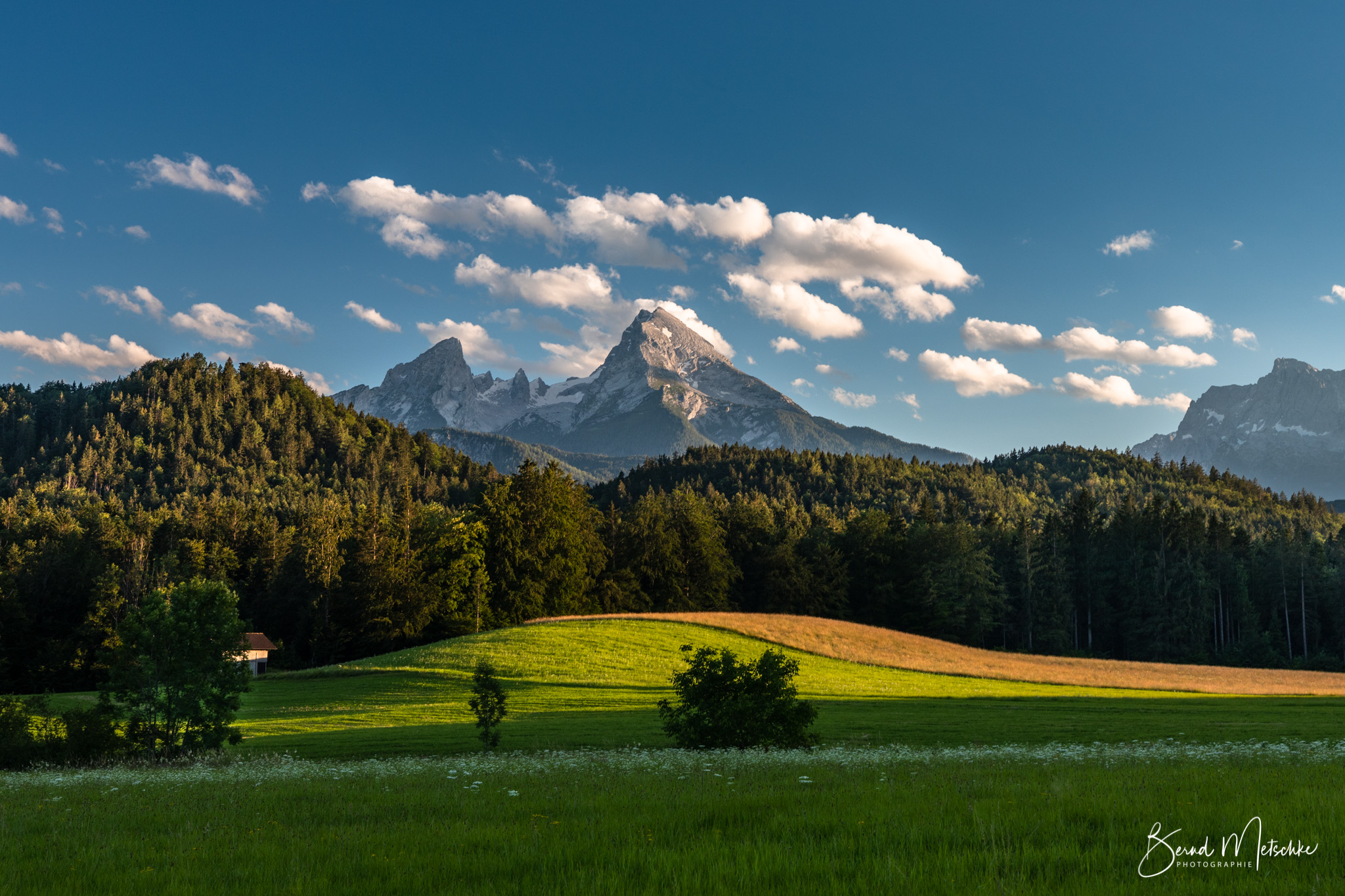 Watzmann im Berchtesgadener Land