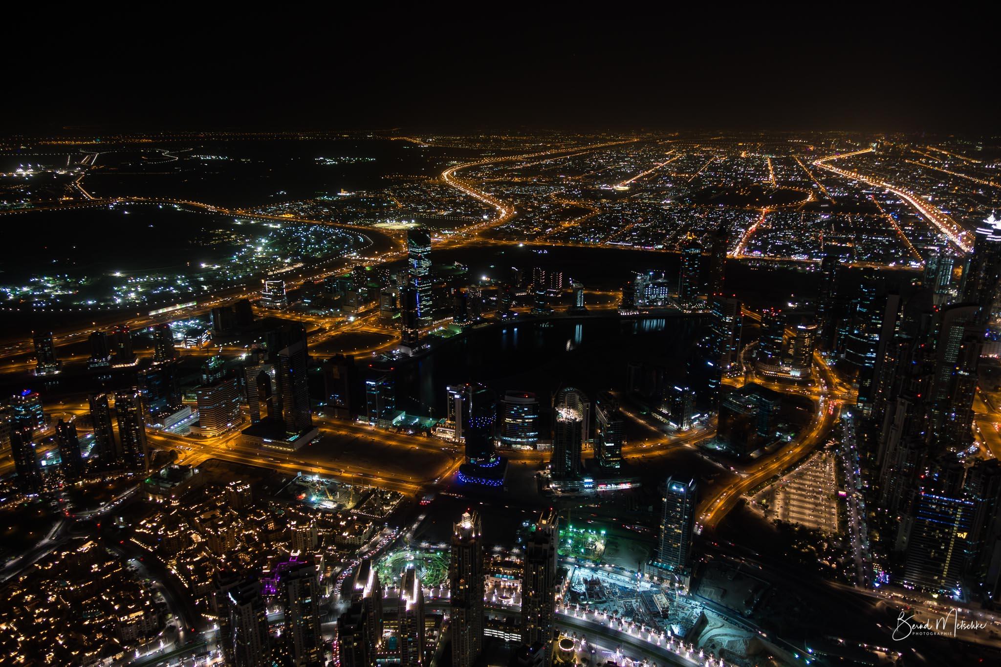 Ausblick vom Aussichtspunkt Burj Khalifa