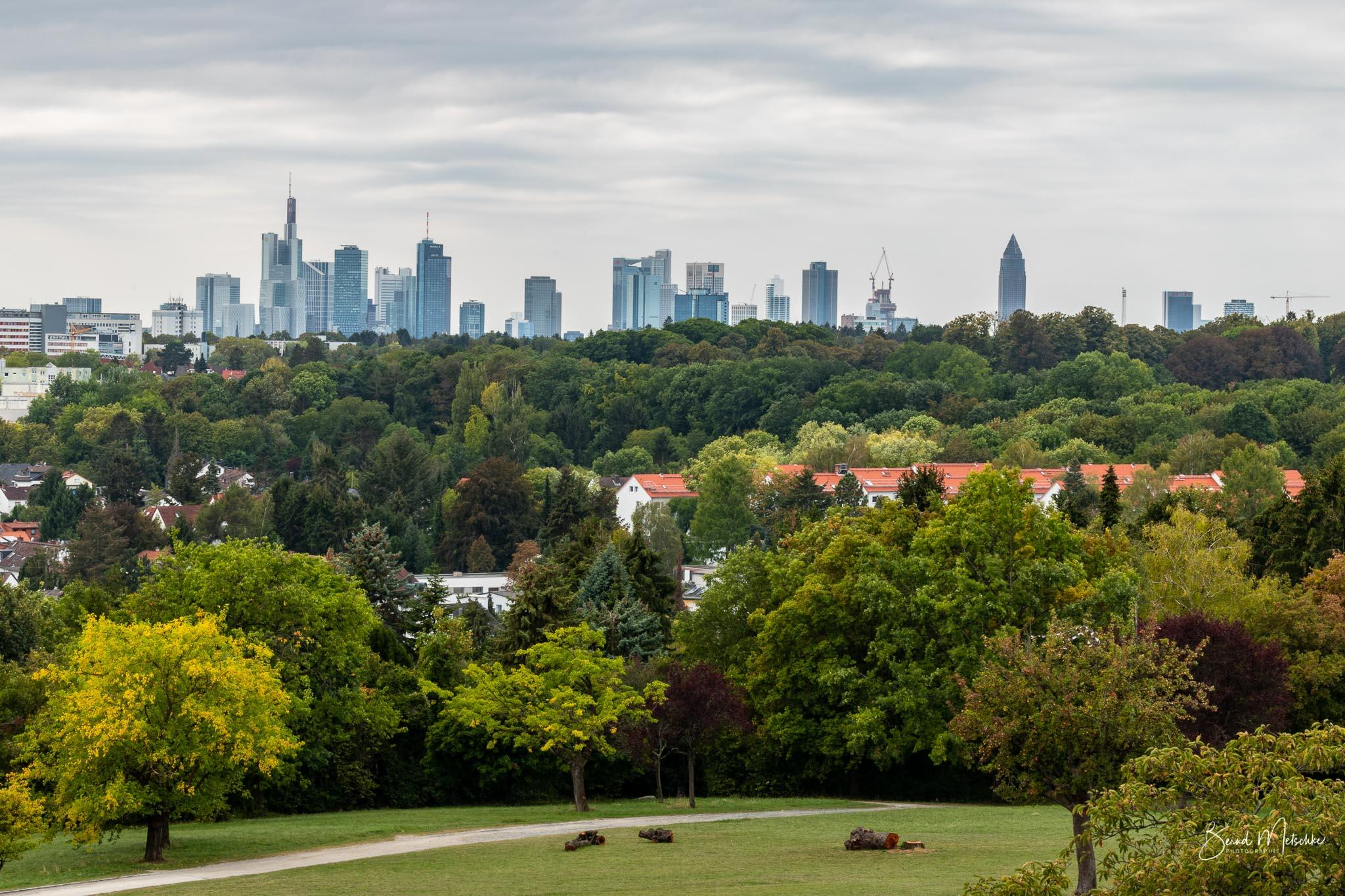 Panorama Frankfurt am Main vom Lohrberg