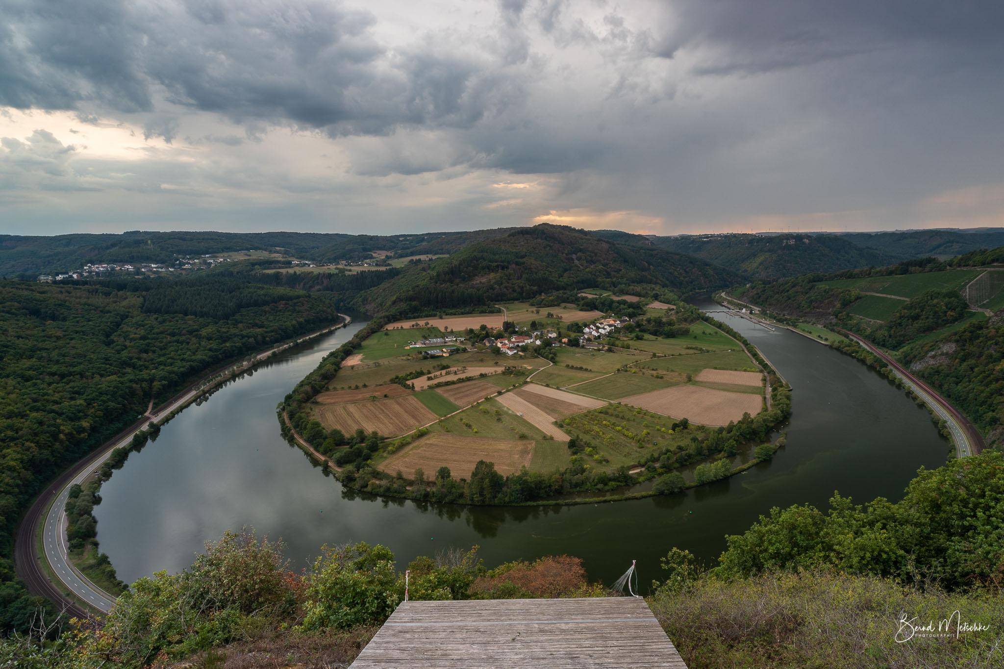 Die kleine Saarschleife ist ein wahres Landschaft-Kleinod.