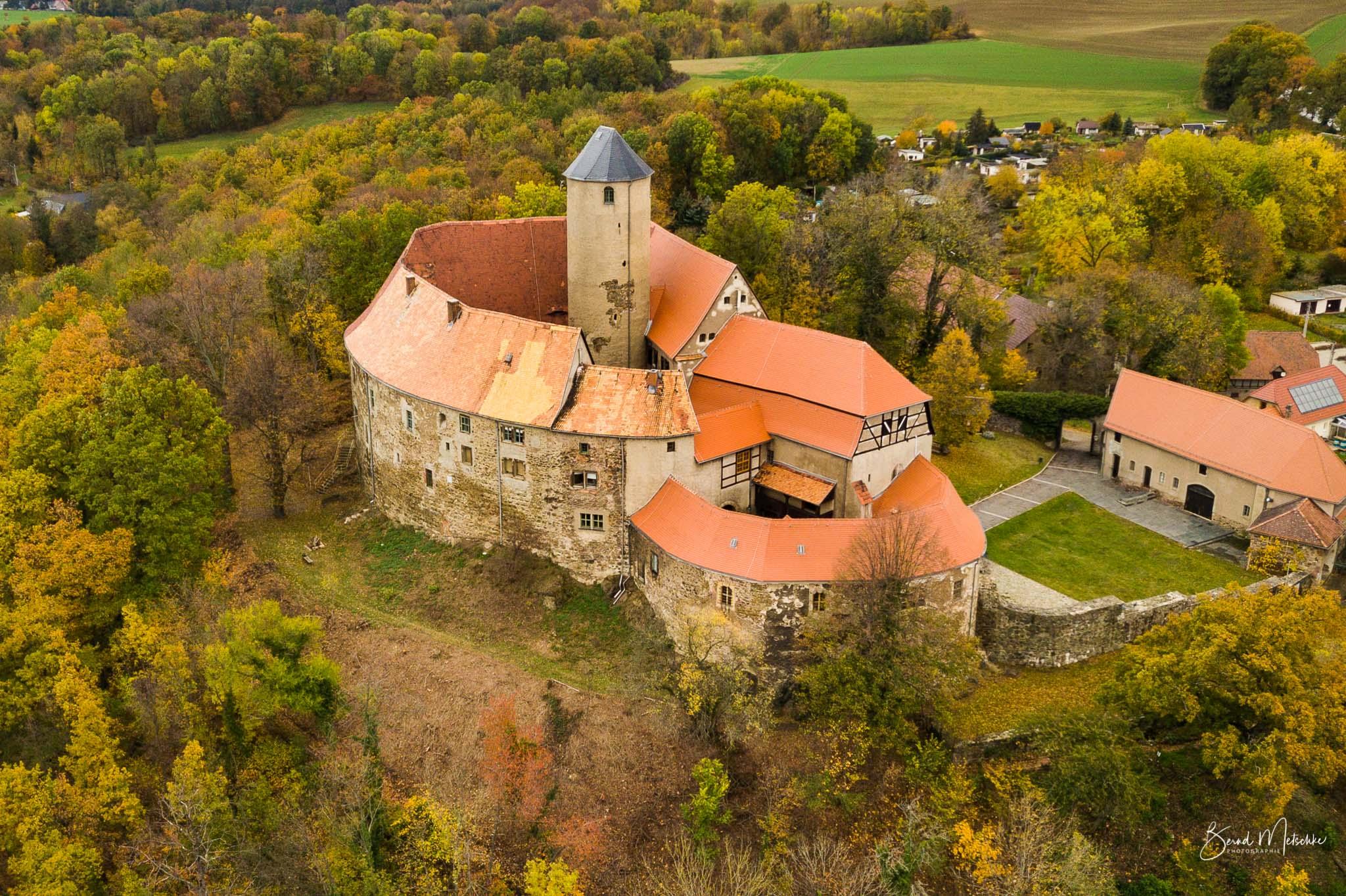 Die Burg Schönfels gehört zu den eindrucksvollsten Burgen in Sachsen.