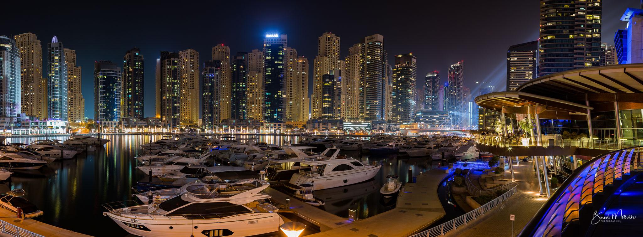 Dubai Marina Yachthafen