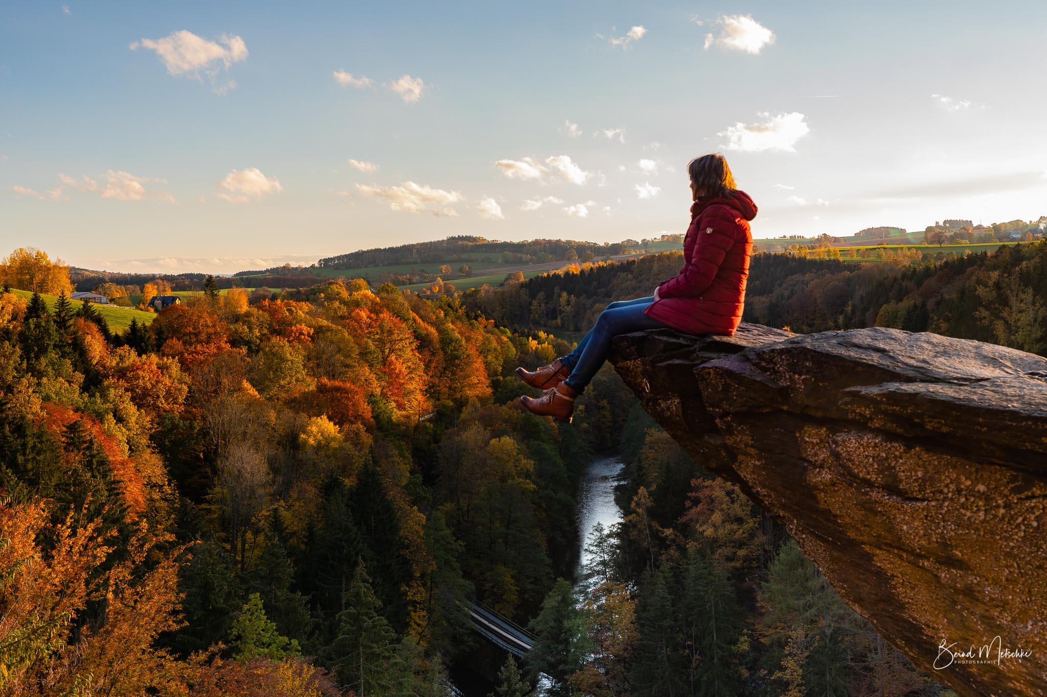Felsenidylle und Kammblick in Wolkenstein