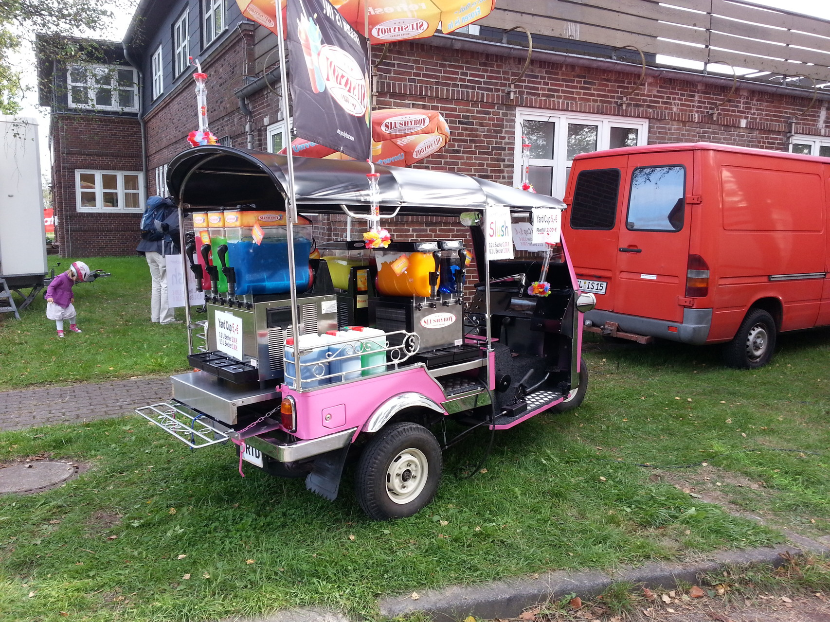 Tuk Tuk als Slusmobil auf dem RSH Kinderfest