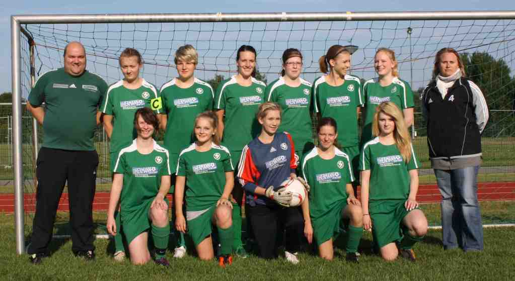 A-Juniorinnen (Staffelmeister & Supercupsieger 2011/12)