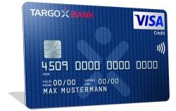 Kostenlose Kreditkarte der Targo Bank