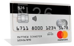 N26 Kreditkarte, Girokonto und App für online Banking