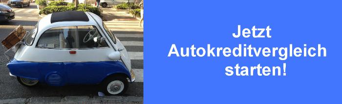 Autokredit Elektroauto im Vergleich