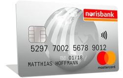norisbank Top-Girokonto Mastercard.