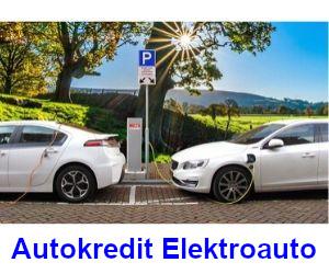 Autokredit Elektroauto Finanzierung durch Bank oder Autohaus