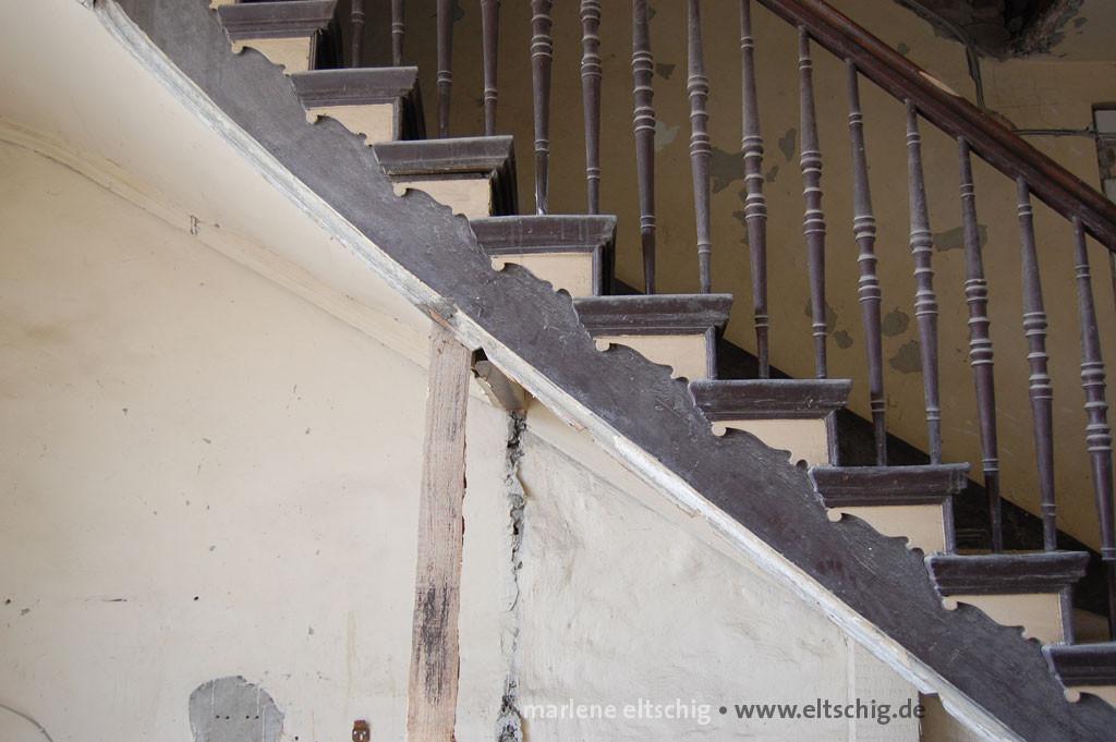 Gründerzeit-Treppe | Gruenderzeit stairway. Potsdam, Germany