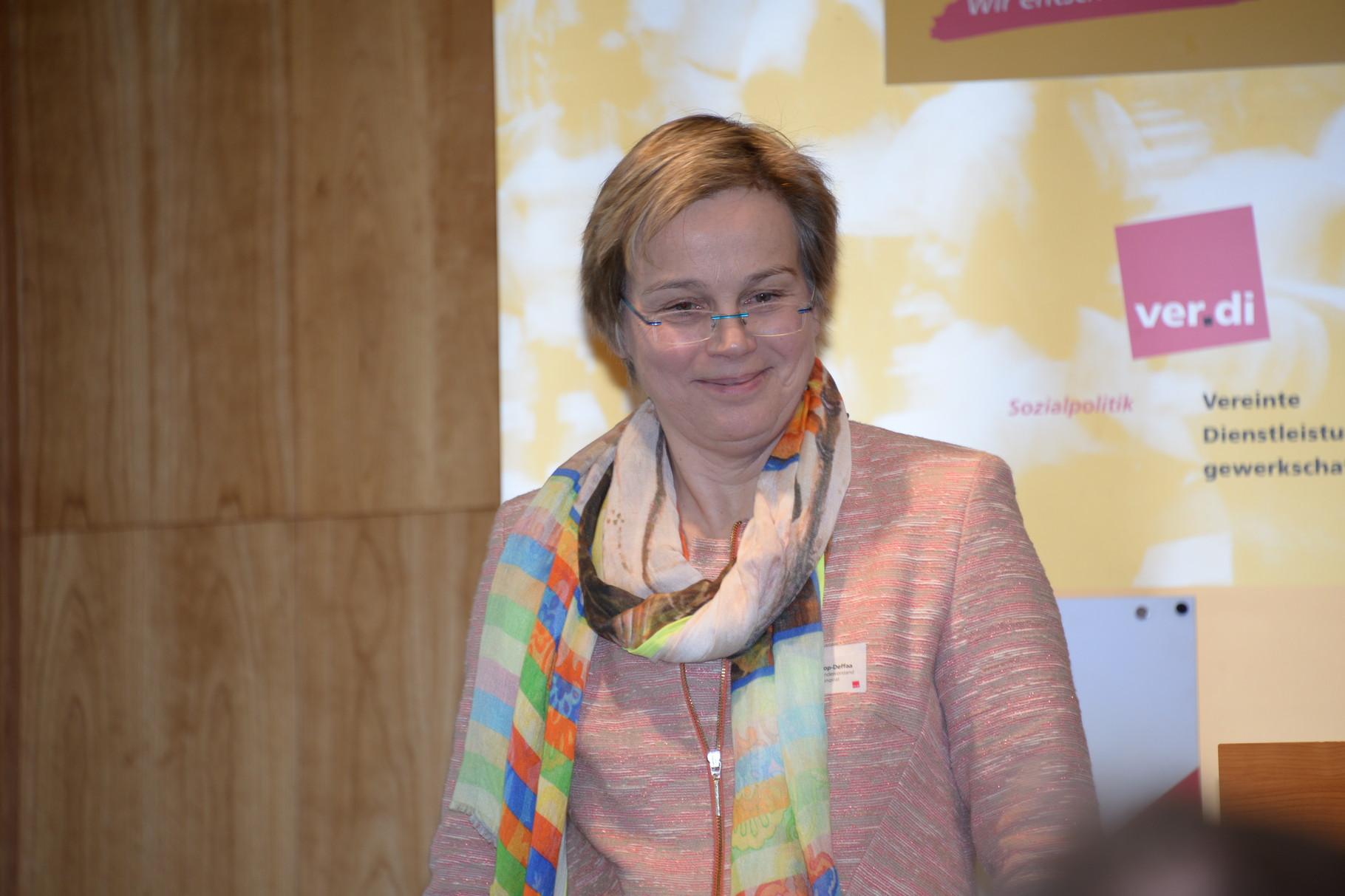 Eva Maria Welskop-Deffaa, ver.di Bundesvorstand