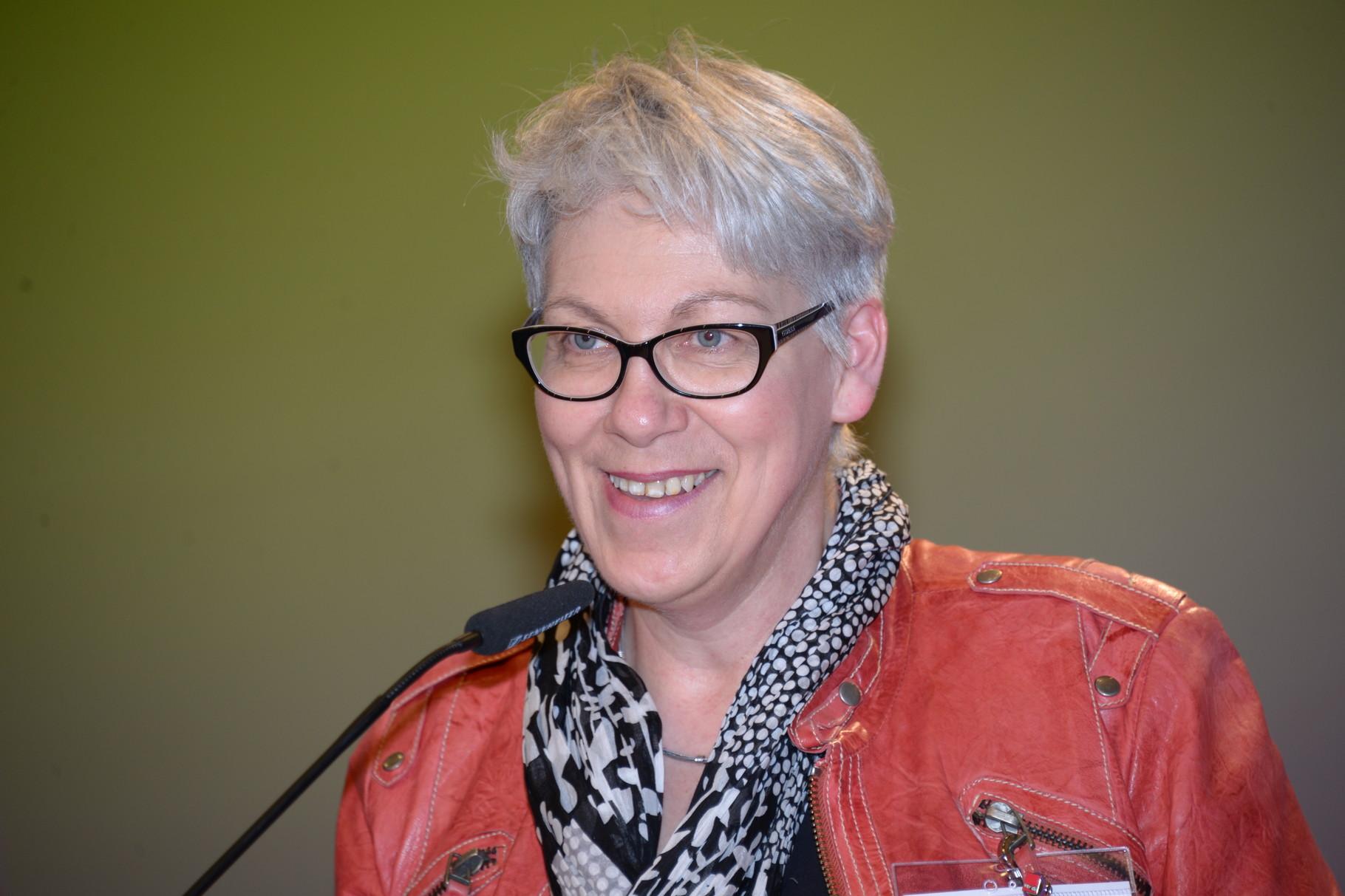Barbara Henke, Vorsitzende des ver.di Bundesfrauenrates