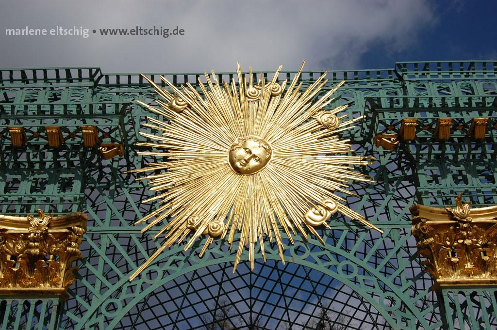 Friedrichs Sonne geht unter | King Frederic´s sunset. Potsdam, Germany