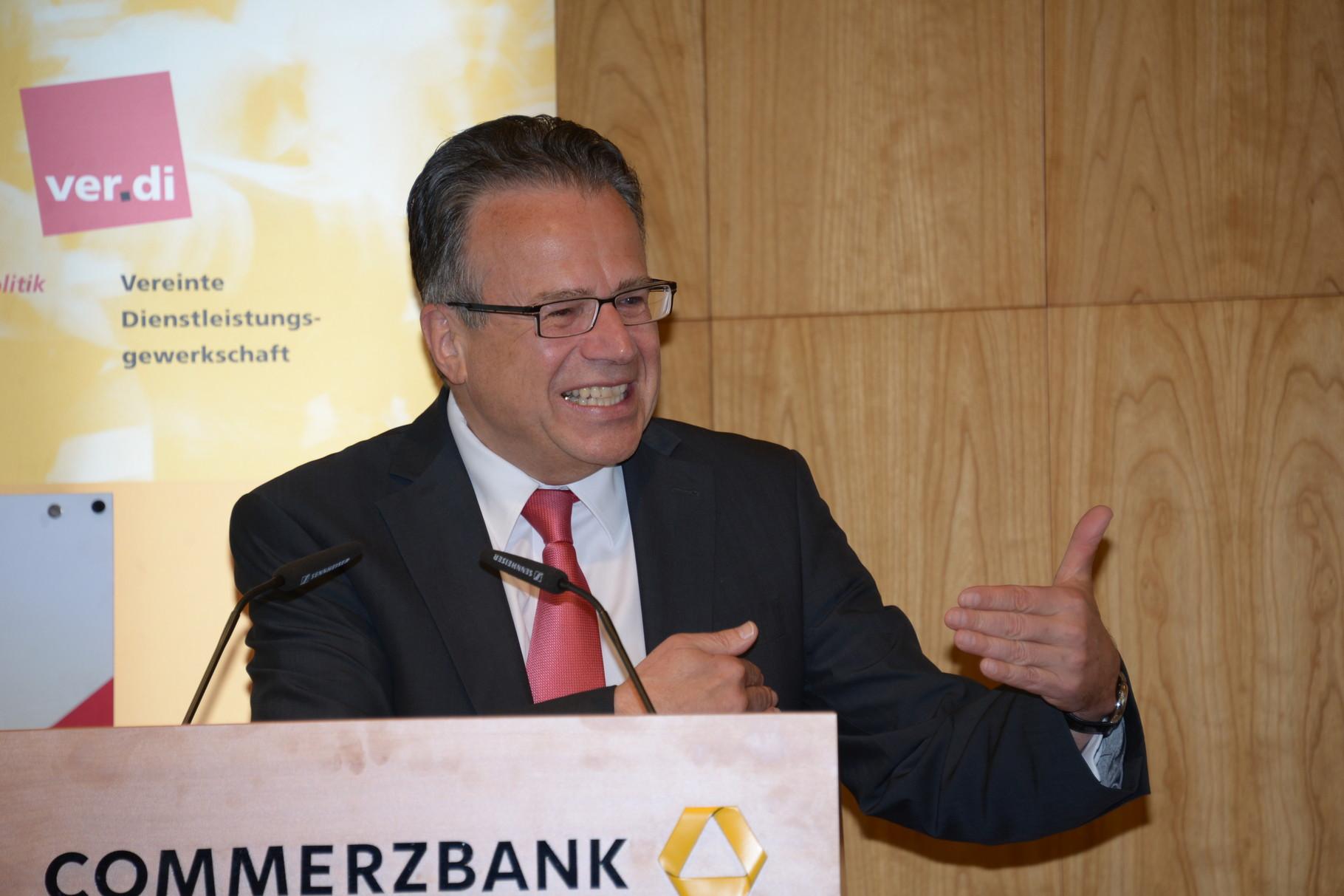 Frank-Jürgen Weise, Vorstandsvorsitzender der Bundesanstalt für Arbeit