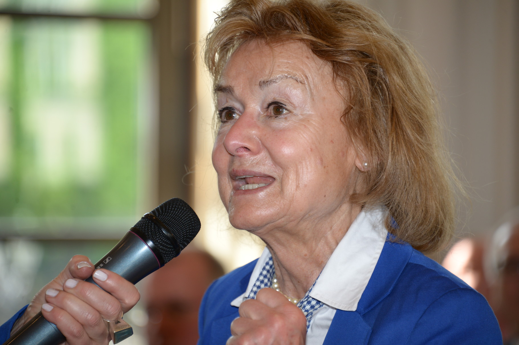 Dr. Ursula Engelen-Kefer beim Tag der Selbstverwaltung