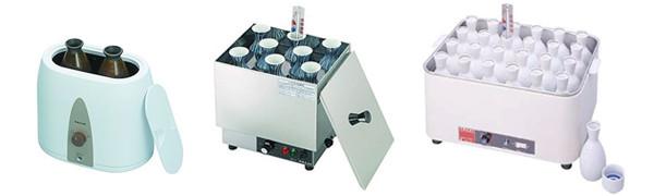 製品バリエーション 左からHS-2,HS-8N,HS-120(どうこ仕様)
