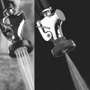 左:従来タイプ 右:超節水タイプ