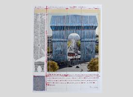 Christo und Jean Claude - Tonnenwand