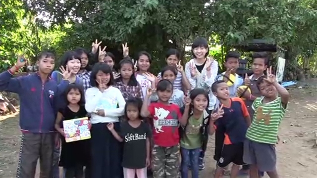 TBS NEWSさんが動画「カンボジアに震災支援のお返し」
