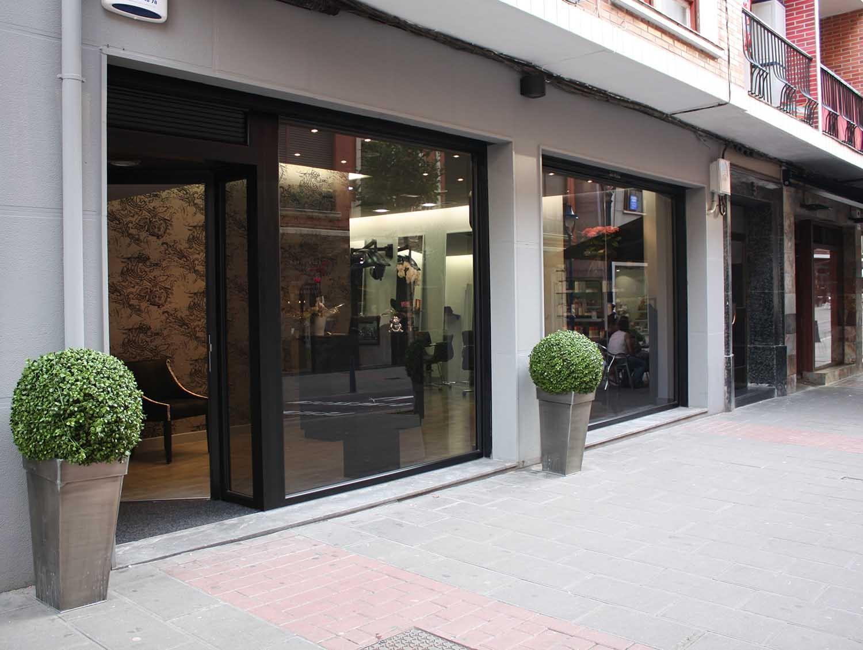 Peluquer a en portugalete estudio arkobi arquitectura for Oficinas santander bilbao