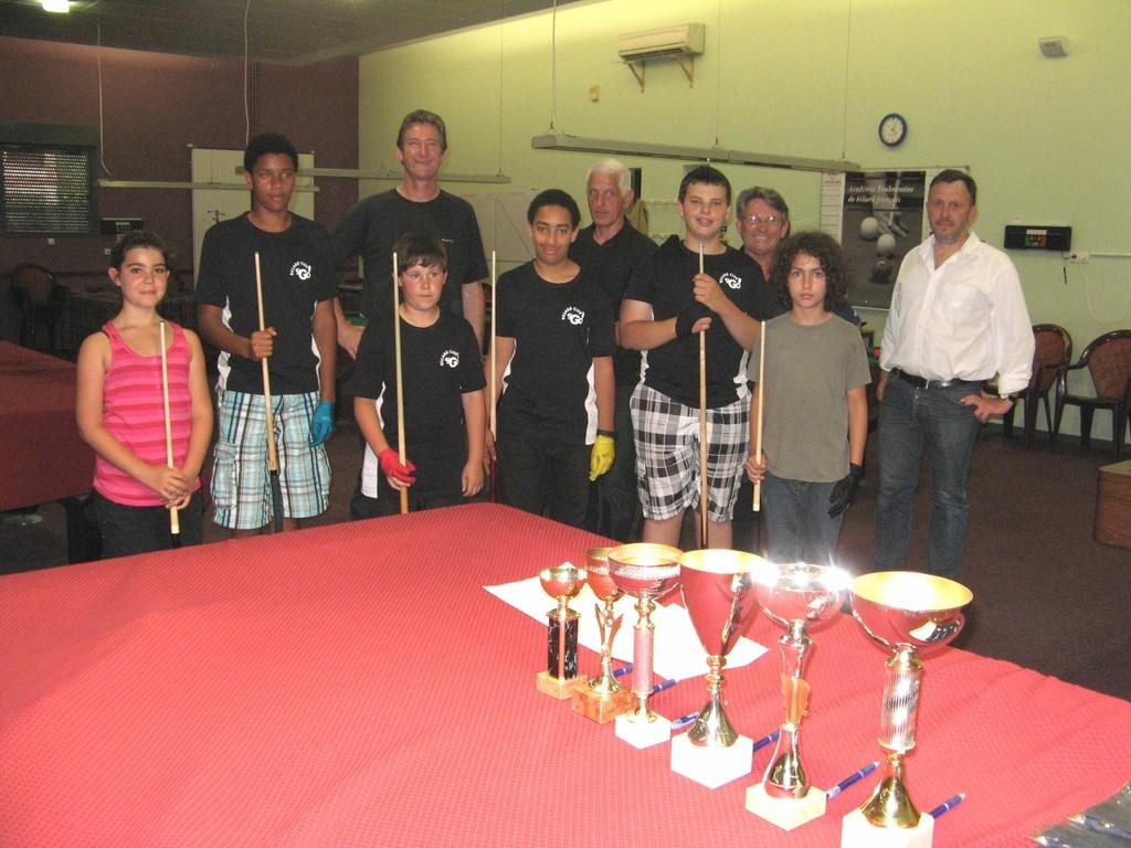 photo de groupe avant la remise des récompenses