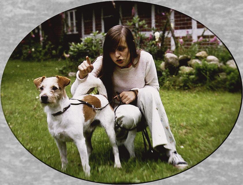1980-Axel und Frauchen Gesche