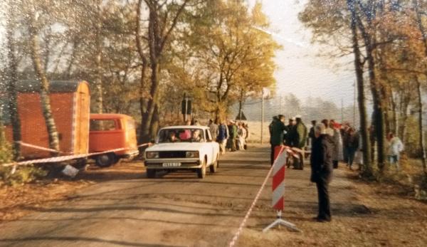 Grenzöffnung in Schmölau am 18.11.1989 (Fotokopie), c Jürgen Ritter