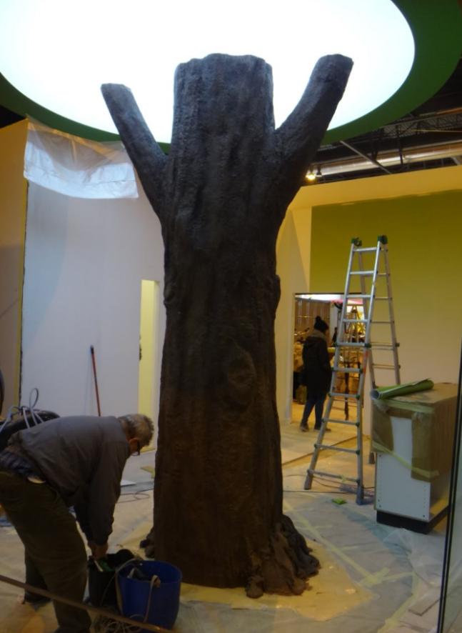 A lo mejor has pensado en que tu stand necesita un árbol