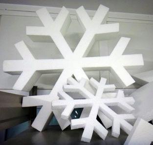 Copos de Nieve Gigantes