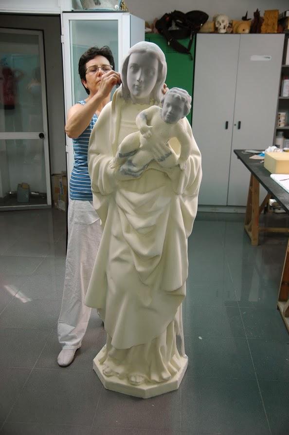 Modelo, Virgen de la Almudena
