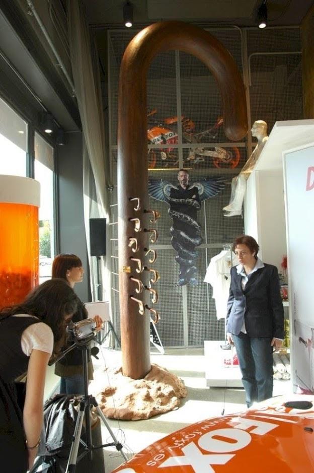 Exposición Tienda Efímera Programas de la Fox