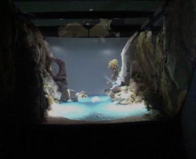 Modelo para teatrillo virtual, Expo del Agua, Zaragoza