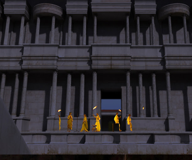 Maqueta Teatrillo Virtual, Museo del Teatro de Caesaraugusta