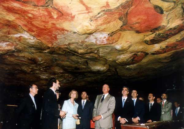 Inauguración del Museo de Altamira (NeoCueva)