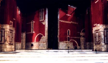 """Decorado """"El Mercader de Venecia"""", Centro Dramático Nacional"""