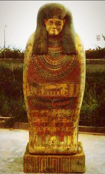 Sarcófago Egipcio, para Spot de Agencia de Viajes