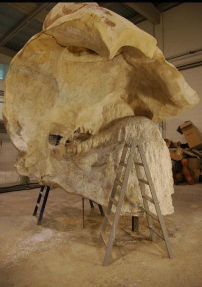 Pieza expositiva para el Museo de Tito Bustillo, Asturias