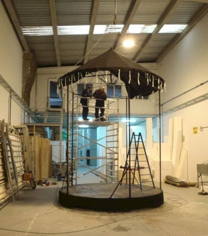 Construcción de un teatrillo