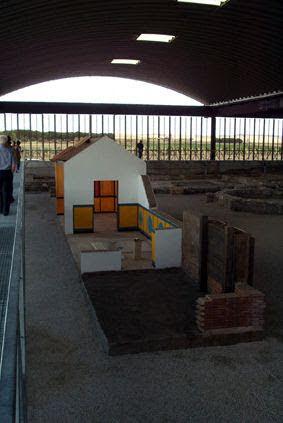 Modelo construcción de Villa Romana