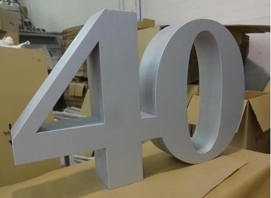 Numero 40 de aniversario