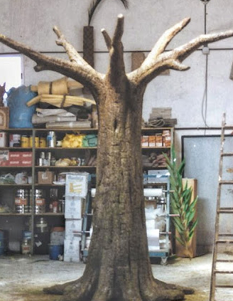 Árbol para Teatro de la Abadía, practicable