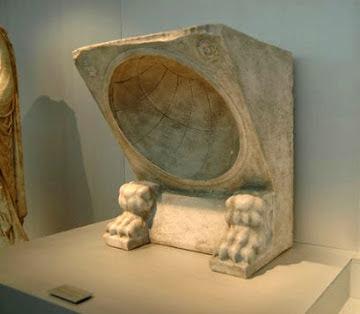 Replica de Reloj de Sol Romano  para Museo