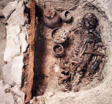 Réplica del Hombre momificado, Centro de Interpretación Castellón Alto, Granada