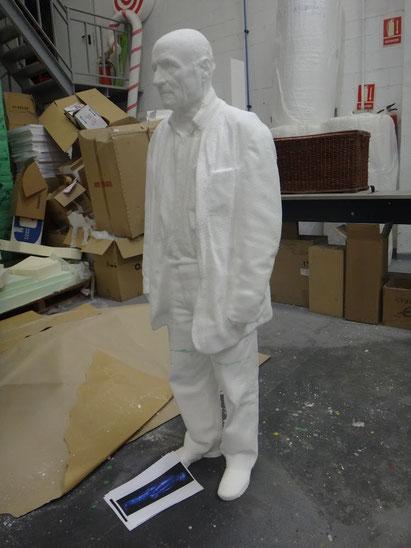 Modelo Personaje tridimensional (Antonio López)